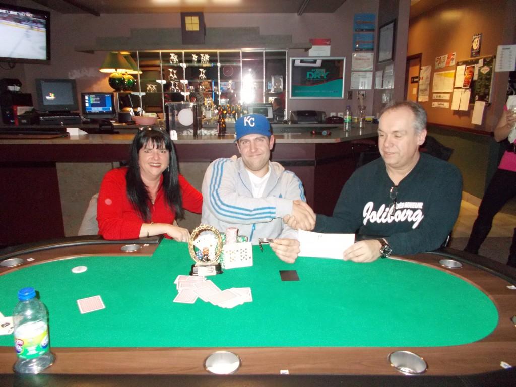 Gagnant Tournoi de Poker 8 février 2013